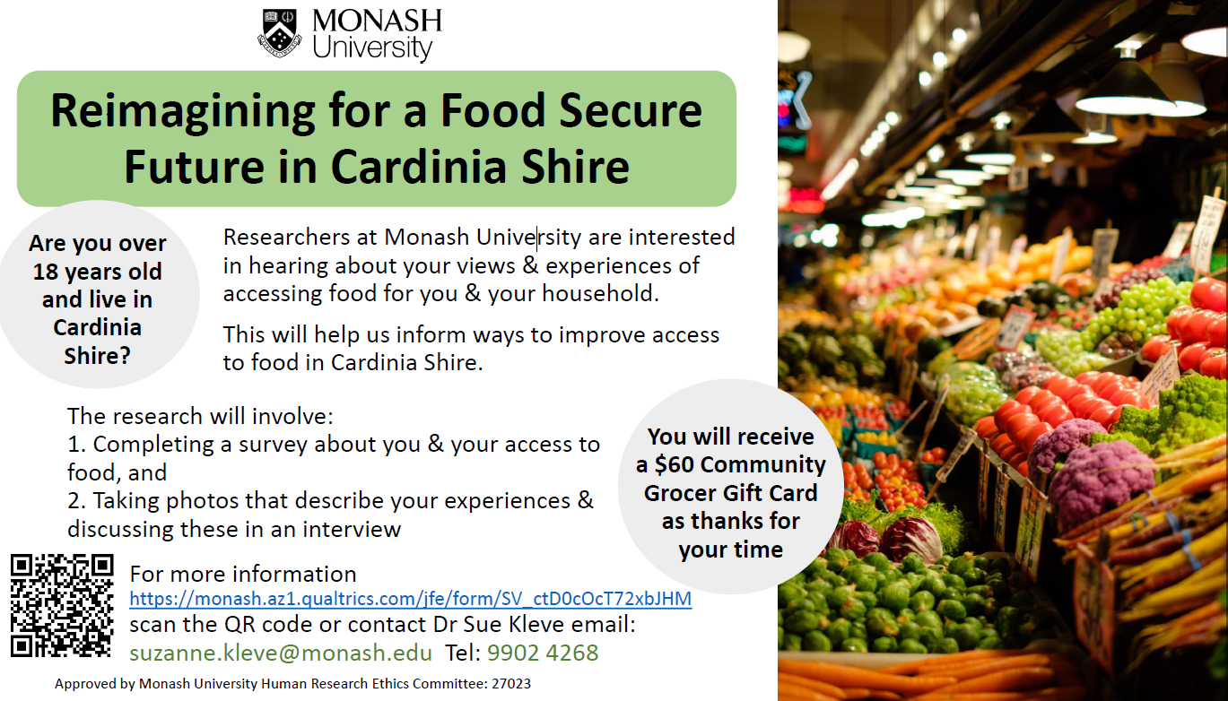 Reimagining for a Food Secure Future in Cardinia Shire