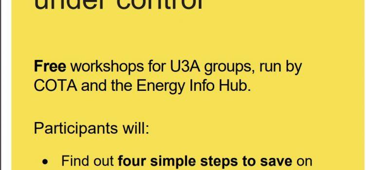 Get your energy bills under control